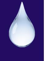 Gel droplet.